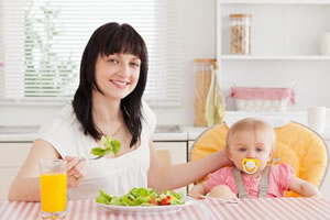 Amamentação e a Alimentação da Lactante