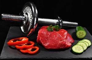 Alimentação e ganho de massa muscular