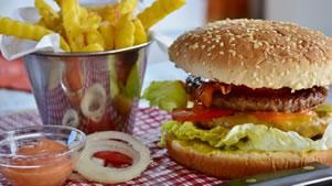 Alimentos não saudáveis