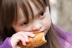 Síndrome de Down e alimentação